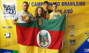 judocas de cruz alta