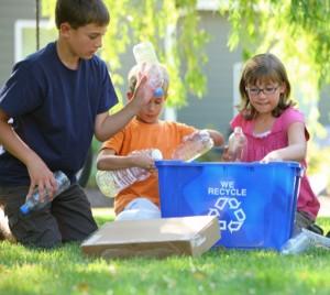 Ensine responsabilidade ambiental às crianças