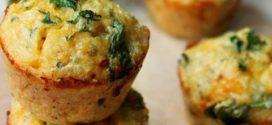 mini muffins de omelete com quinoa